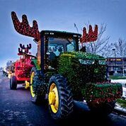 Lighted Parade Tractor