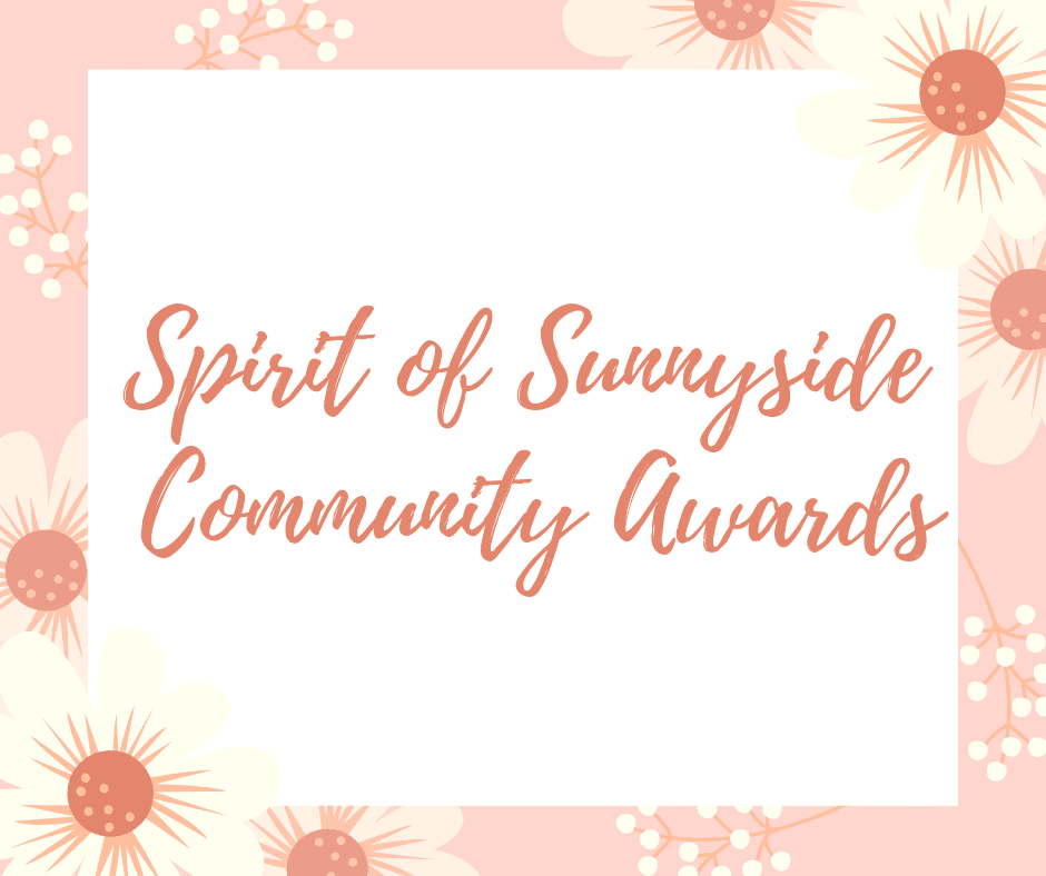 Spirit of Sunnyside Community Awards Cover Photo